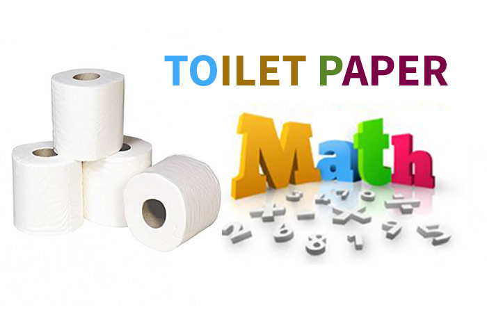 Toilet Paper Math How Long Wide Tall