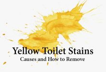 Photo of How to Remove Yellow Stains from Toilet Bowl & Seat
