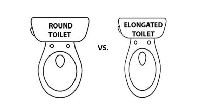 Photo of Elongated vs Round Toilet  Bowl Shapes