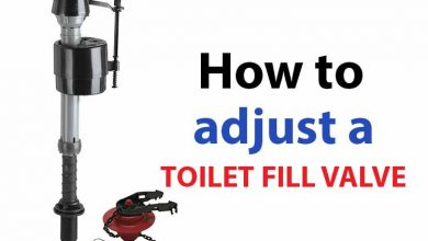 Photo of How to Adjust a Toilet Fill Valve(DIY)