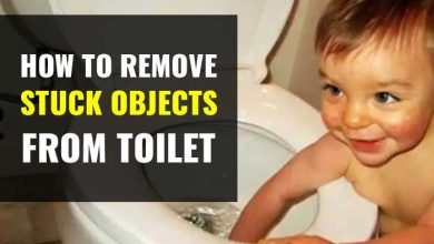 Photo of How to Remove Foreign Objects Stuck in Toilet Trap-Toys, Keys, Rags & Spoons
