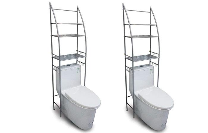 Yokepo Bath storage metal rack