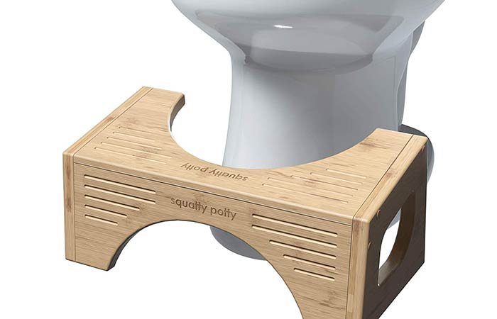 Creating DIY Squatty potty alternative