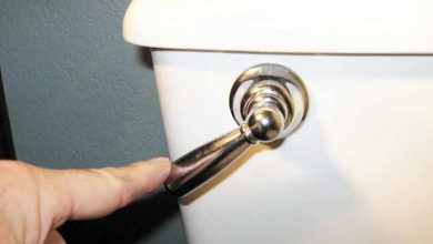 Photo of How to fix a Toilet Handle that Stays Down, Doesn't Spring Back