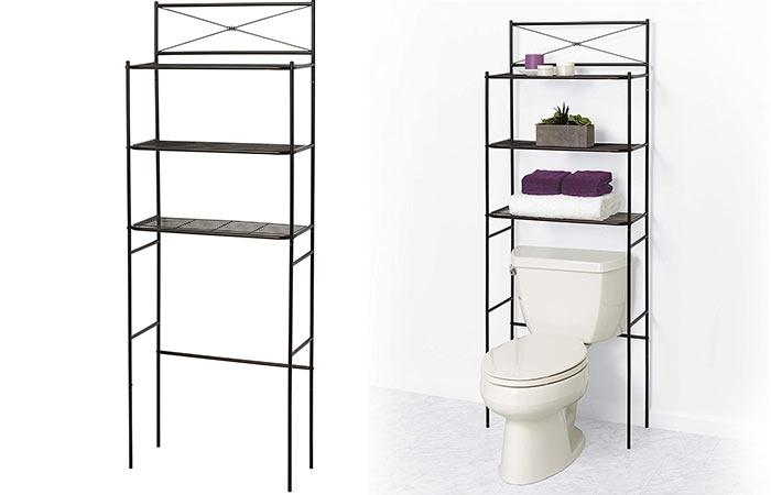 Zenna Bathroom Over-the-toilet Storage