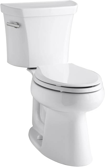 Kohler comfort height two-piece toilet