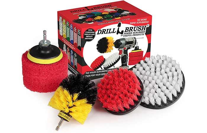 Bathroom Power Drill Brush