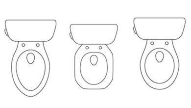 Photo of Different Toilet Seat Shapes and Sizes