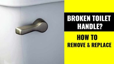 Photo of How to Replace a Broken Toilet Lever Arm/Handle