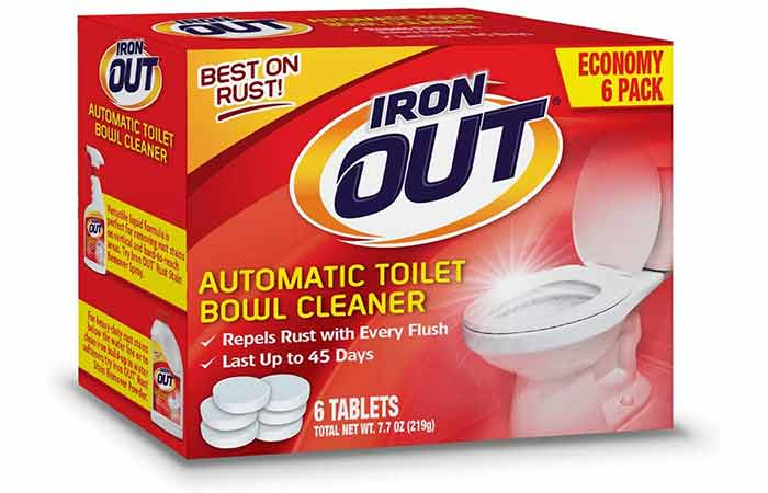 Iron out automatic toilet cleaner tablets & Powder