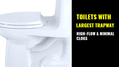 Photo of Top Toilets with Largest Trapways: High Flow & No Clog