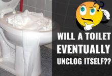 Photo of Will a Toilet Eventually Unclog Itself? What if Toilet Clogged for Days?
