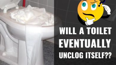 Photo of Will a Toilet Eventually Unclog Itself? What Happens if You Leave it Clogged?