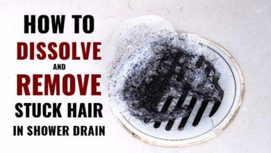 Photo of How to Dissolve and Remove Hair in the Shower Drain