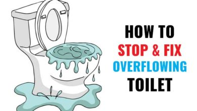 Photo of How to Stop & Fix  an Overflowing Toilet