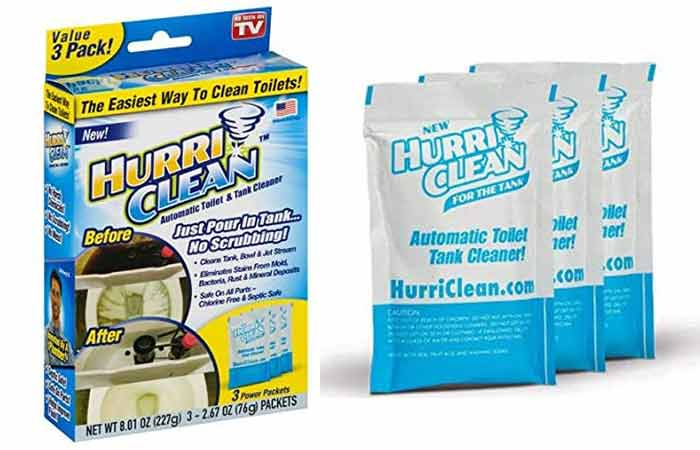 HurriClean Automatic Toilet and Tank Cleaner