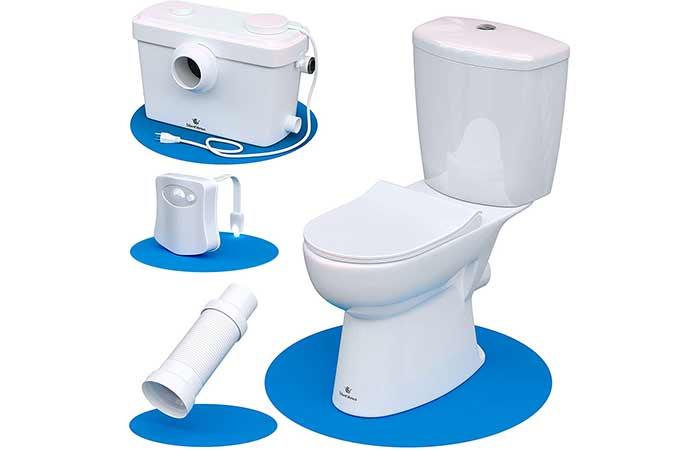 Silent Venus Upflush Toilet
