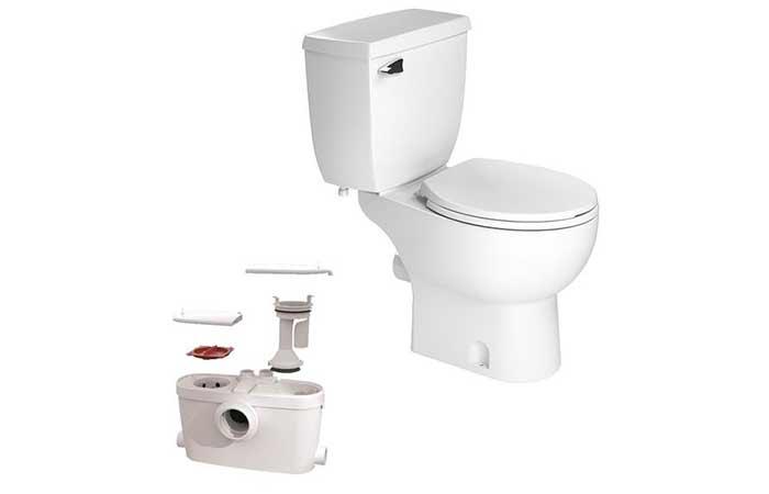 Upflush Toilet Kit