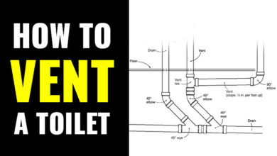 Photo of How to Vent a Toilet +Venting Options without a Vent