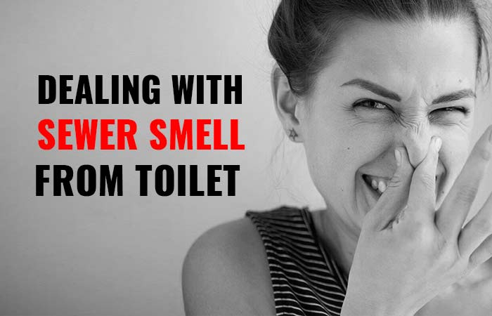Photo of Sewer Smell from Toilet, When Flushed, Causes & How to Eliminate