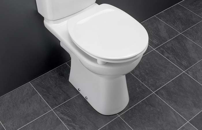 New toilet smells like sewage
